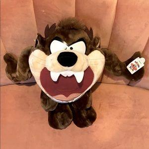 NWT Vintage Tasmanian Devil Plush Stuffed Animal